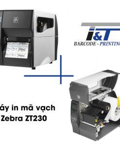 Máy in mã vạch Zebra ZT230